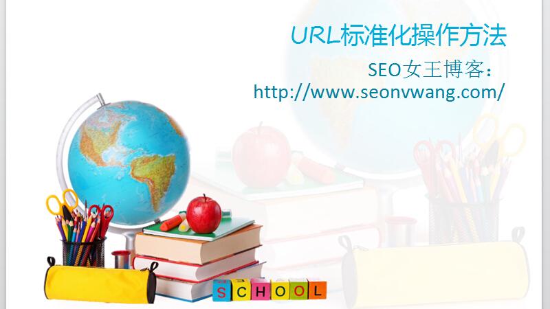 SEO教程网站URL标准化操作4大方法