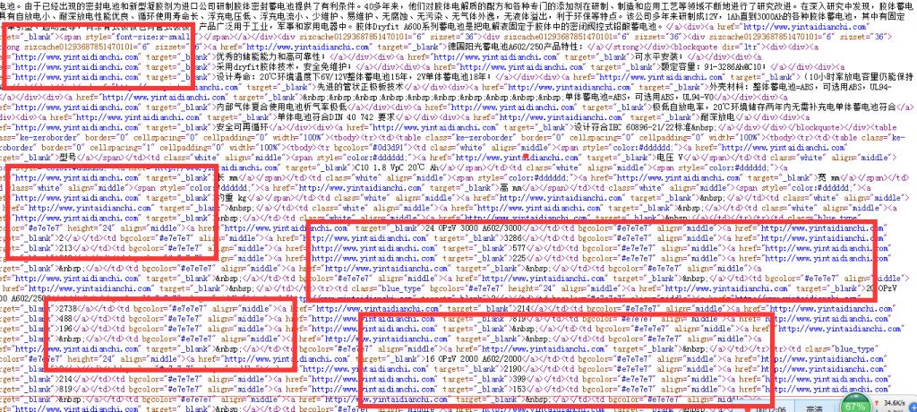 SEO网站排名内链误区4